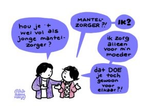 Tekening: Maaike Hartjes/ComicHouse.nl
